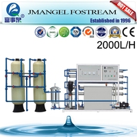 Uv disinfection water treatment system 3000lph ro water system drinkable water system
