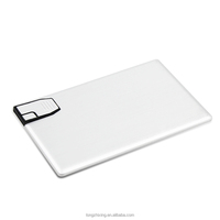 New 2016 ultra slim credit card shaped usb flash drive flash memory
