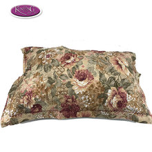 In stock wholesale reactive dying 100% cotton sublimation pillow case for home