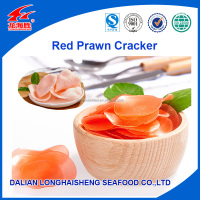 2015 Asian Popular Crispy Red Prawn Crackers