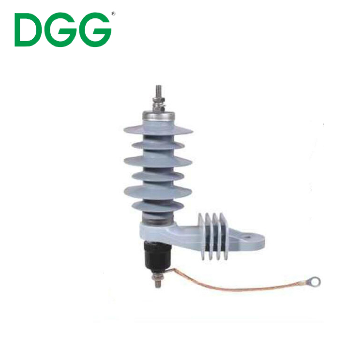 China Newest Design Types Polymer Metal Oxide Surge Arrester 12kv Lightning Arrester