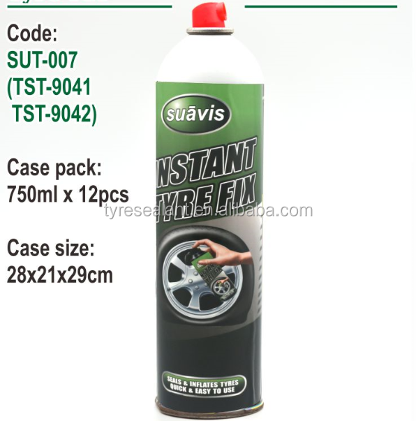 750 ml bicycle tyre fix sealant with Aluminum cans