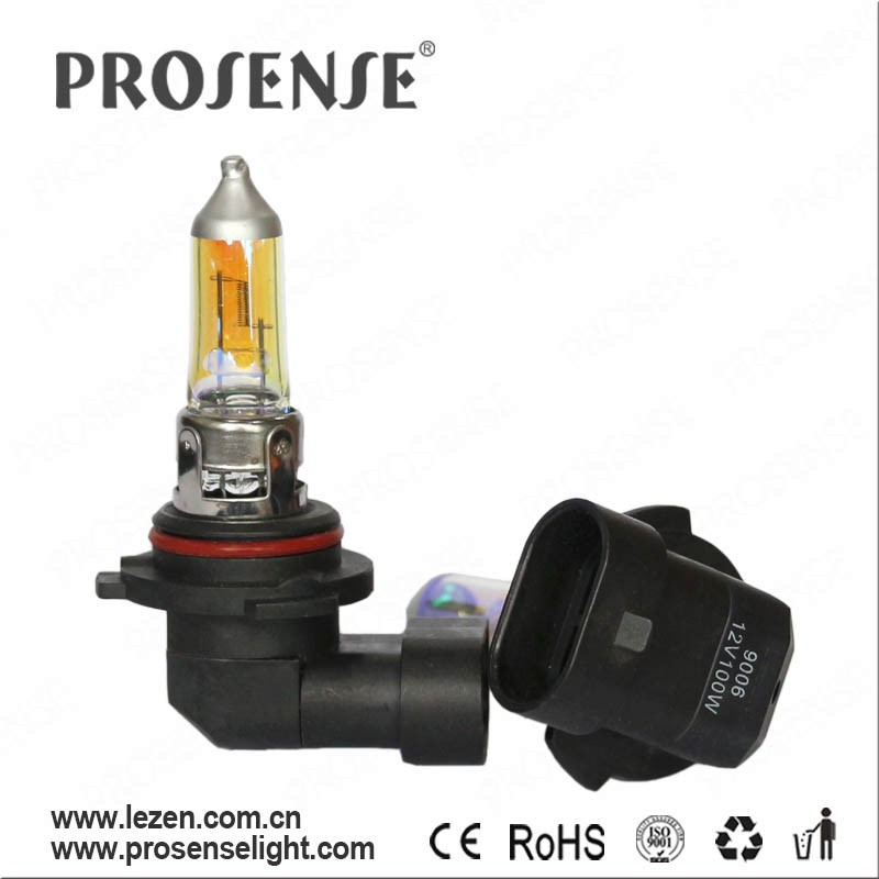 ProSense Gold Car Halogen Headlight Bulb 9006 HB4 12V 55W for Jeep