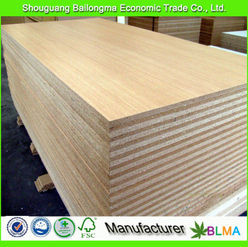 18mm particle board / laminated chipboard price