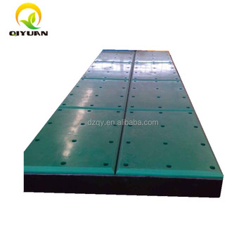 hot sale UHMWPE Corner Fender Face Pad and hdpe edge marine fender facing pad