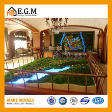 3D rendering ,house model maker, architecture house scale model