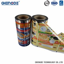Plastic Beautiful Design Custom Logo Printed Hdpe Ldpe Pet Plastic Film Rolls Scrap