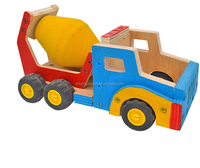DIY Toy Creative Wooden Truck Building Kit