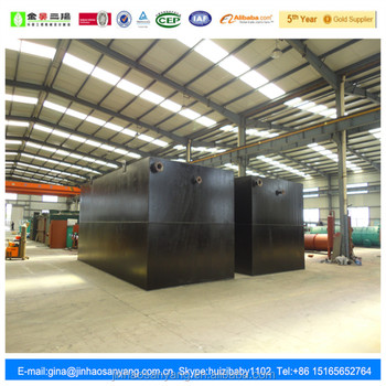 DCW type underground sewage treatment equipment for domestic and sanitary treatment