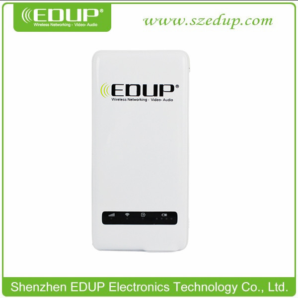 EDUP EP-9512N 150Mbps pocket Mini 3G WiFi Wireless Network Router/WiFi Disk/Repeater/AP 4500mAh polymer Batteries Built-in