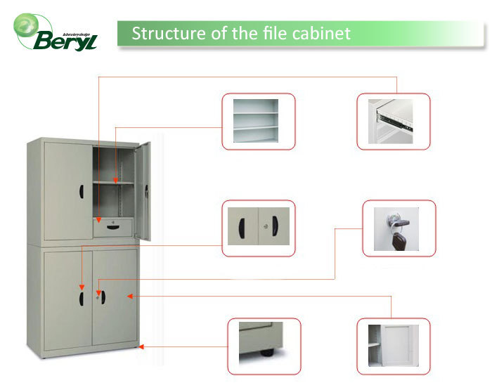 China manufacturer new models office/lab filing cabinet, steel file cabinet