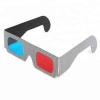 Promotional Paper Anaglyph 3D Glasses