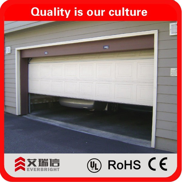 Residential sectional garage door prices/ Used cheap sectional garage door low prices sale