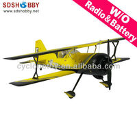 42in Pitts Model 12 EPO/ Foam Electric Airplane ARF (Brushless Version) Yellow