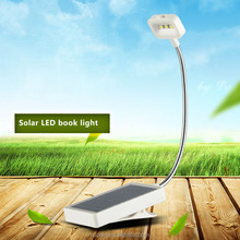 Wholesale china care eyes's light taobao agent lighting lamp reading light lamp solar book 3led lamp clip on book or table