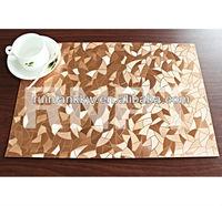 RNPT PVC metallic non-slip table mat