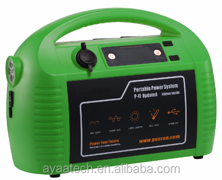 1300W portable solar power generator power supply power station for electric appliance