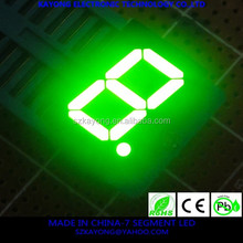 7 seven Segment dot matrix single digits colors led numeric led display