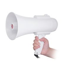 15W alarm recording fordable small handy master high volume megaphone