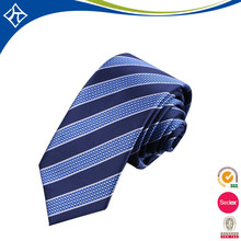 Best service company wholesale custom made stock polyester strip cheap neck ties