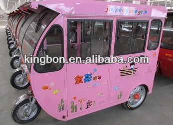 on sale closed body electric tricycle for passenger