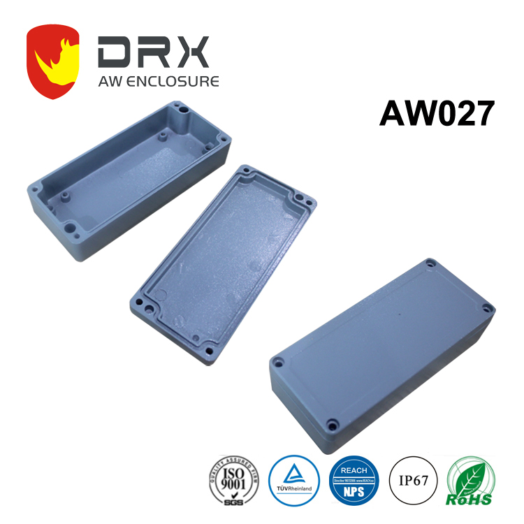 IP 67 Rated Rectangle Aluminium Waterproof Enclosure/Box