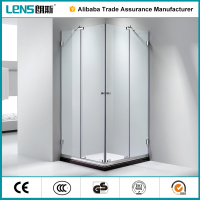 Easy moved Large Size Well Polished 304 Stainless Steel Shower Room