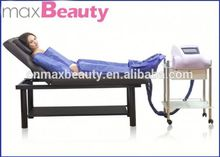 3 in 1 Infrared air pressure massage +electronic muscle stimulation +warm vacuum detox machine
