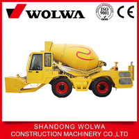 Hot sale chinese 2.0cbm mini mobile concrete mixer truck for sale directly from fctory