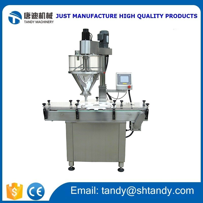 Automatic powder filling machine / cups coffee capsule filling sealing machine