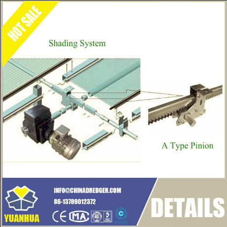 High-Quality a Type Screen Pinion Used for Modern Agricultural Greenhouse