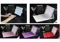 Popular Bluetooth Wireless Keyboard Leather Case Stand Cover For iPad air
