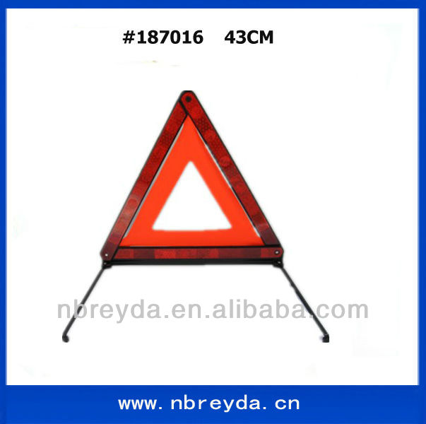 Auto/Car Roadway Reflecting Warning Triangle