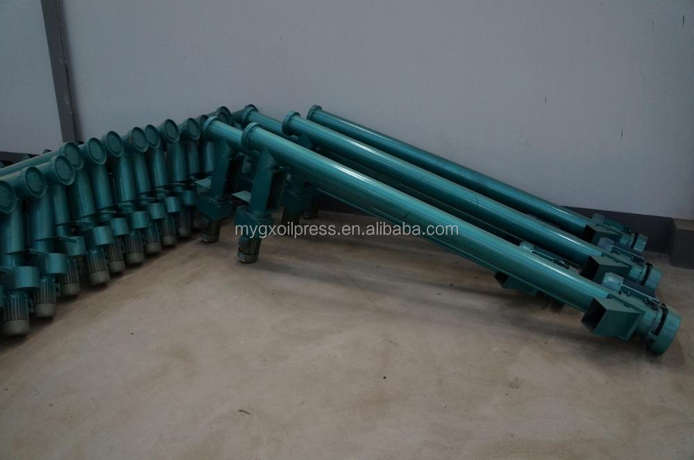 Profession flexible tea seed powder spiral screw conveyor
