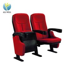 Commercial furniture folding theater auditorium chair low price