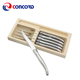 "Factory wholesale price 6 pcs stainless steel laguiole handle 4.5"" steak knife for steak cutting"