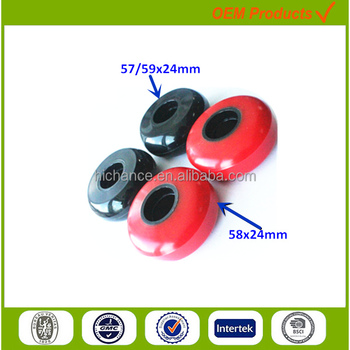 factory new design 59mm customized polyurethane wheels