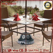 Waterproof Electric Outdoors Patio Heater Umbrella Stand Heater 1500W Table Heater