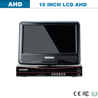 h.264 10.1 Inch digital LCD cctv dvr 8ch & h 264 dvr software download