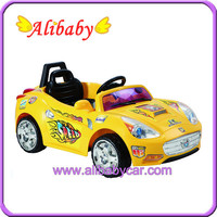 Cheap Chinese Alison C00206 Plastic 6V battery ride on toy car baby car for sale