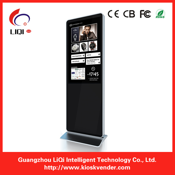 55inch High Quality LED Touch Screen Display Kiosk For Exhibision