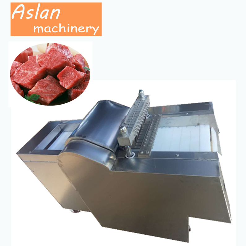 automatic beef pork cube cutter/pork meat cutting machine/commercial meat dicing machine