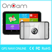 Promotion M6X 7 inch dvr Touch screen camera with Android wifi gps camera