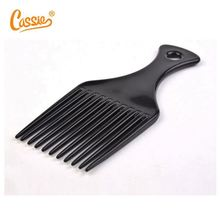 High quality plastic afro comb for black men