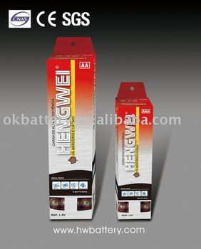 HEAVY DUTY BATTERY R6-60/BOX