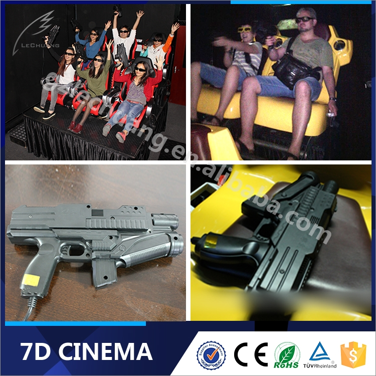 7D Glasses Big Projector Gun Shooting Games 7D System Equipment