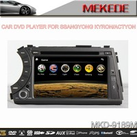 Special 7'' CAR GPS PLAYER For Ssangyong Kyron/Actyon with DVD,GPS,BT,IPOD,RADIO function+online shopping+very hot