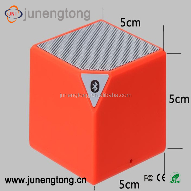 cube outdoor wireless cube bluetooth speake mini wireless gifts promotional factory portable sound quality speaker
