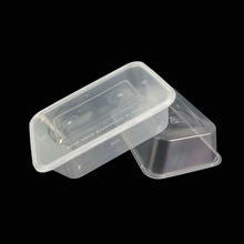 Custom small clear plastic cake packaging boxes wholesale