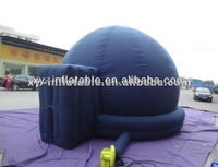Hot selling planetarium Inflatable tent, inflatable projection dome tent with rings